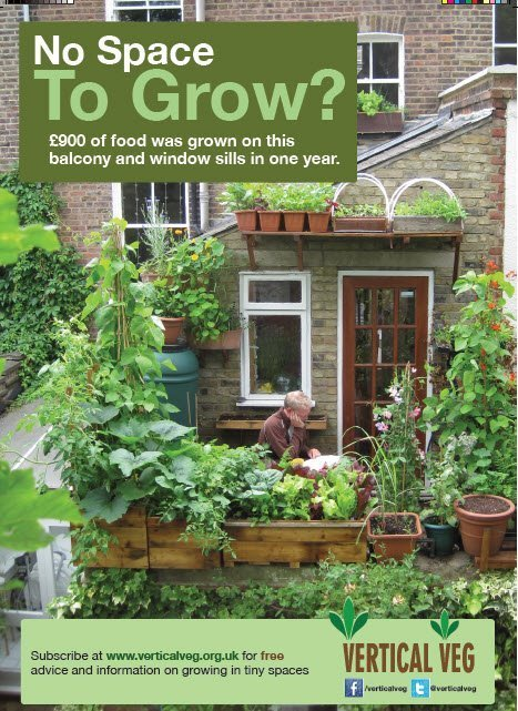 Vertical Veg – inspiring and supporting food growing in tiny spaces | Arrival Cities | Scoop.it