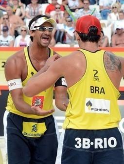 Ricardo/Cunha e Alison/Emanuel são o Brasil nas semifinais em Moscou   esportes   Scoop.it