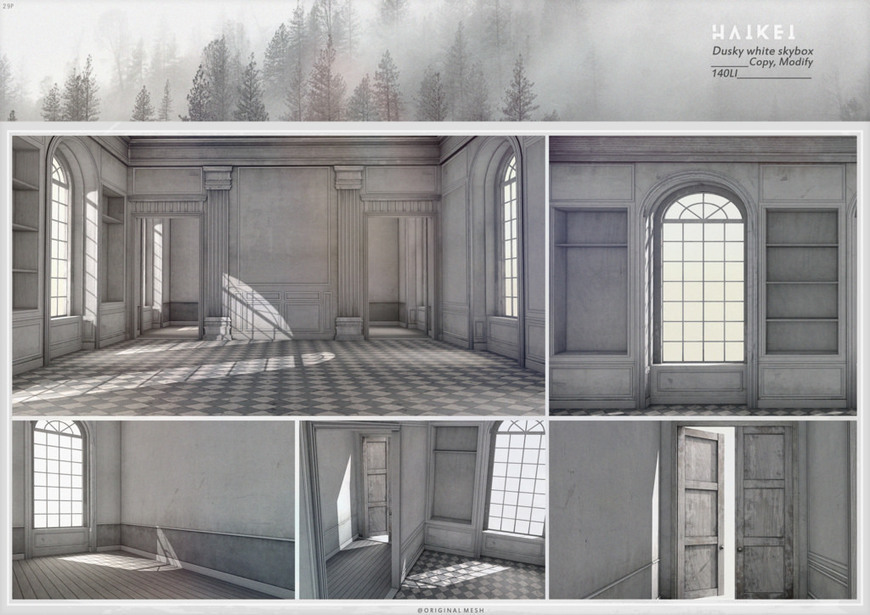 Second Home Decorating Ideas: :HAIKEI: Dusky White Skybox