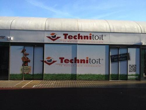 Les travaux de la 1ere Boutique Technitoit à l'Atoll d'Angers (49)