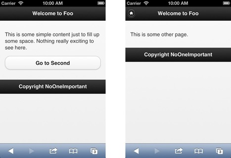 Working with jQuery Mobile Panels   Web Builder Zone   html5, webapp, mobility, ibooks, bootstrap   Scoop.it