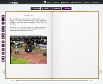 Free Technology for Teachers: Widbook - Collaborative Creation of Multimedia Books | C21 learning: ideas and tools for teachers | Scoop.it