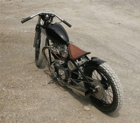 BSA A10 '58 by Atom Bomb Custom Motorcycles   Vintage Motorbikes   Scoop.it