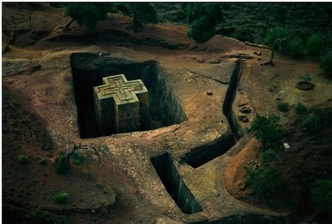 St. George's rock-cut church, Ethiopia | Anthropology and Archaeology | Scoop.it