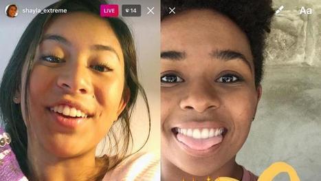 Instagram lanza vídeo en directo y enviar mensajes que desaparecen | eSalud Social Media | Scoop.it