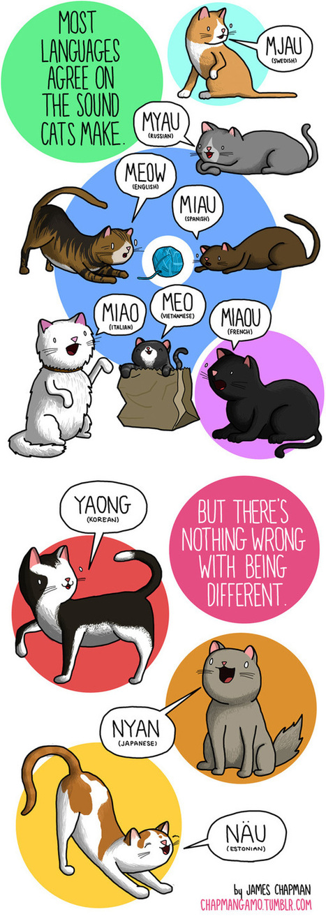 Adorable Comics Featuring Sound Effects From Around The World | Eye on concepts | Scoop.it