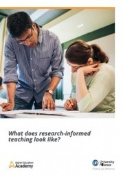 Research-informed teaching case studies booklet : University Alliance | Higher education news for libraries and librarians | Scoop.it