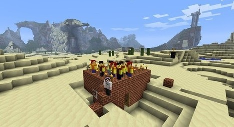 Minecraft spawns classroom lessons | Computer games in Classrooms | Scoop.it
