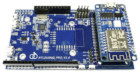 RTL8710 Ameba Arduino Development Board and Ameba Arduino v2.0.0 SDK Released | Embedded Systems News | Scoop.it