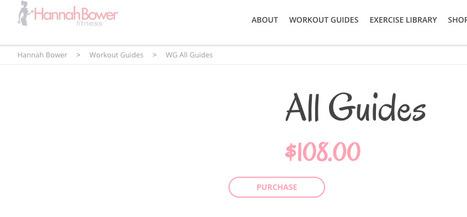 Téléchargement gratuit PDF Hannah Bower Tous les guides de fitness | Guide de perte de fitness | Prenez-le