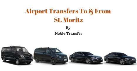 Airport Transfers to & from St. Moritz