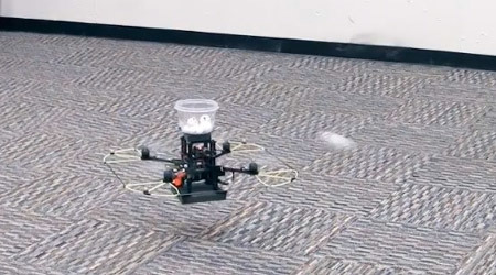 Quadrotors Can Now Play Catch, All-Robot Baseball Team Closer to Reality - IEEE Spectrum | Idealogue | Scoop.it