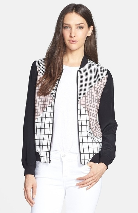 5 Spring Bomber Jackets to Wear Now | TAFT: Trends And Fashion Timeline | Scoop.it