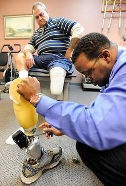iWalk: First Miss. vet fitted with new state-of-the-art artificial limb - Jackson Clarion Ledger   Exoskeleton Systems   Scoop.it