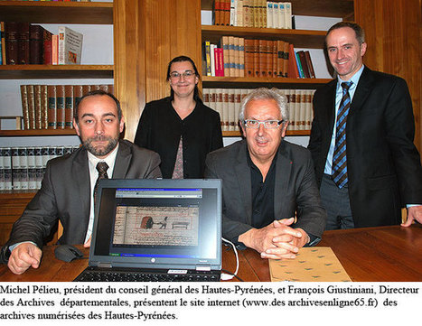 Lancement du site internet des archives numérisées des Hautes-Pyrénées - [TARBES INFOS] | Vallée d'Aure - Pyrénées | Scoop.it
