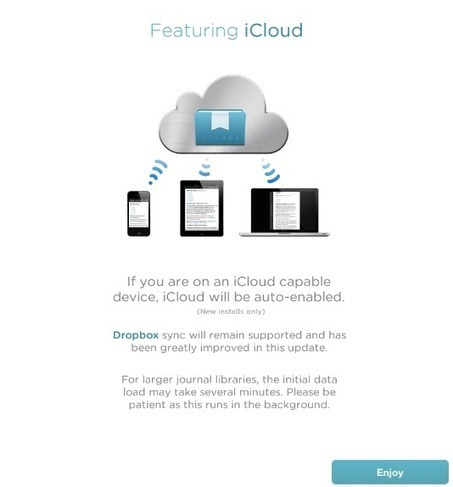 Day One 1.5 for iOS: Now With iCloud Sync | Cloud Computing the future or Not so much? | Scoop.it
