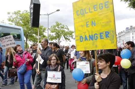 Réforme du collège : Lettre ouverte aux parents qui ne manifesteront pas samedi 10 Octobre | ProNews | Scoop.it