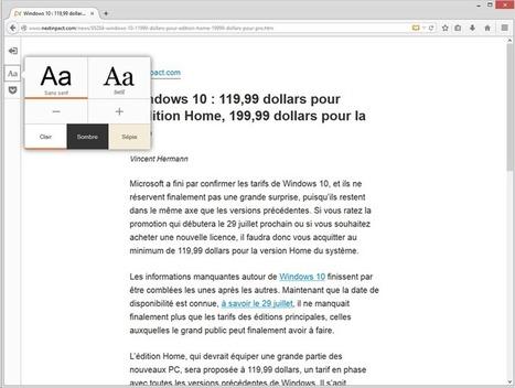 Firefox 38.0.5 entérine l'intégration de Pocket et du mode lecture | François MAGNAN  Formateur Consultant | Scoop.it