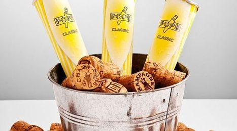 POPS, Champagne Ice Popsicles | Glass of Bubbly | The Champagne Scoop | Scoop.it