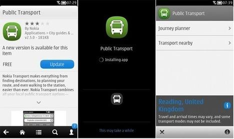 Nokia Transport v2.5 released for Symbian smartphones | SymbianTweet | Nokia, Symbian and WP 8 | Scoop.it