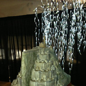 The sweetest model of Minas Tirith is made of cake and icing - io9 | Geeky Creations | Scoop.it