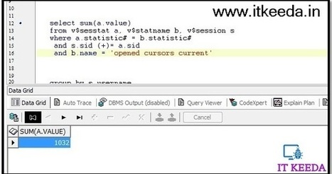 Check open cursor in oracle user wise and sessi