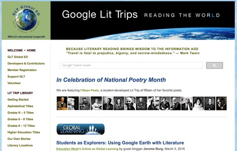 New Google Lit Trip Published!   Google Lit Trips: Reading About Reading   Scoop.it