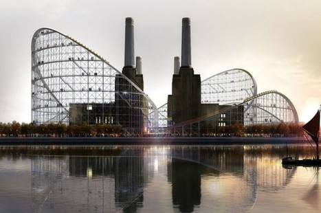 Architects imagine a Battersea Power Station rollercoaster conversion   The Architecture of the City   Scoop.it