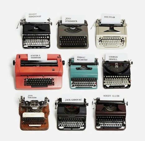 kadrey: Awesome: Typewriters of Famous Authors | Technology | Scoop.it