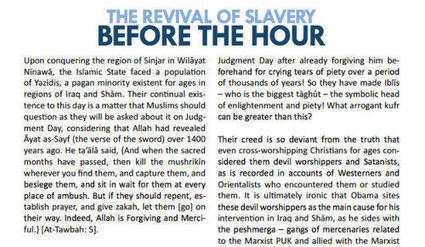 ISIS Says It Is Reviving Slavery Of Women To Keep Men From Committing Adultery   Women: Relationships, alcohol, porn, lesbians, masturbation, swinging, fantasy, female sex predators and orgasm   Scoop.it