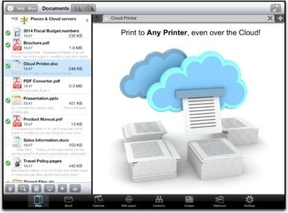How to Print with an iPad: Five Options for Schools - Jonathan Wylie | Info for iPads | Scoop.it