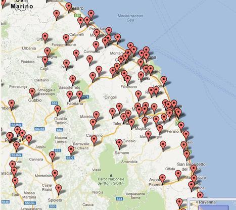 mappa distributori metano