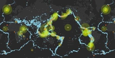 Mapa interactivo de vulcanismo y actividad sísmica | Rincón didáctico de Ciencias Sociales | Enseñar Geografía e Historia en Secundaria | Scoop.it