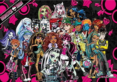 Monster High: Transmedia Education | Transmedia: Storytelling for the Digital Age | Scoop.it