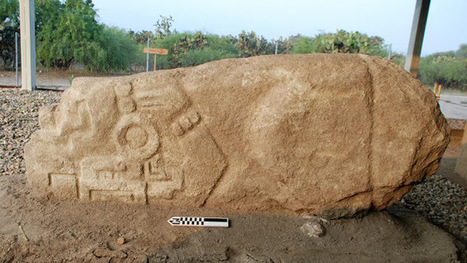 Prehispanic crocodile stone unearthed in Mexico | Histoire et Archéologie | Scoop.it