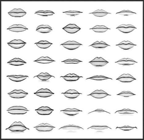 How To Draw Lips In Drawing References And Resources