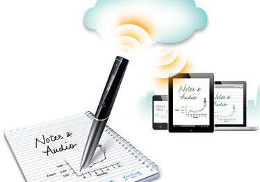 Un bolígrafo con wifi que transfiere lo que se escribe en papel a Evernote | Microsiervos (Gadgets) | Recull diari | Scoop.it