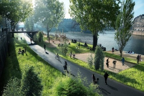 Paris pushes for car-free River Seine as anti-pollution measures tighten | green streets | Scoop.it