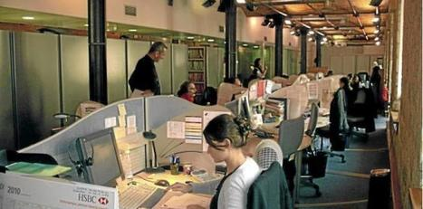 Il est 14h55, c'est le moment pour les salariés de faire un tour... sur Facebook | Le Monolecte | Scoop.it