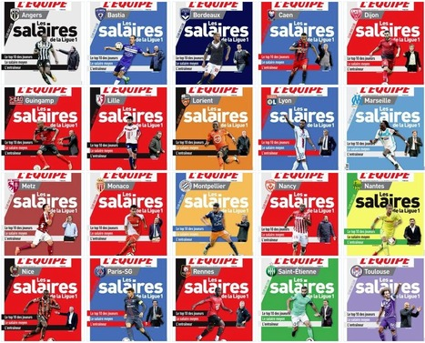 26 éditions différentes ce vendredi pour L'Equipe | DocPresseESJ | Scoop.it