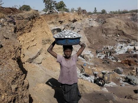 GRAND FORMAT. Dans la carrière aux enfants de Ouagadougou | Jaclen 's photographie | Scoop.it