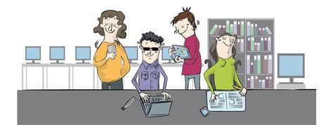 Guía universitaria para estudiantes con discapacidad | Docentes:  ¿Inmigrantes o peregrinos digitales? | Scoop.it