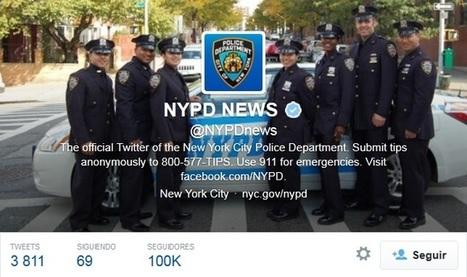 La Policía de Nueva York, orgullosa de su 'mala publicidad' en Social Media | Comunicación 2.0 | Scoop.it