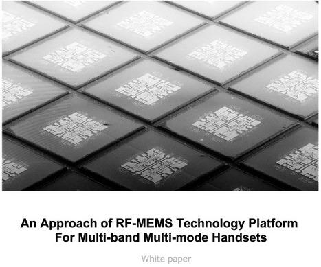 An Approach Of RF MEMS Technology Platform by DelfMEMS | DelfMEMS News | Scoop.it