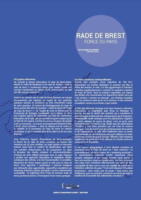 Rade de Brest, force du Pays | ADEUPa | Actualités et Publications de l'ADEUPa, de ses partenaires  et du réseau des agences d'urbanisme | Scoop.it
