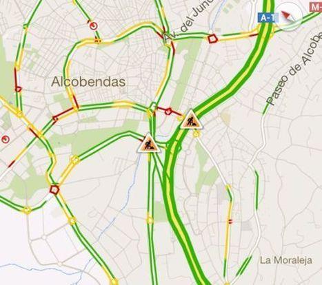 Google Maps incorpora el tráfico en tiempo real - El País.com (España) | SOCIOTECNOLOGIA | Scoop.it