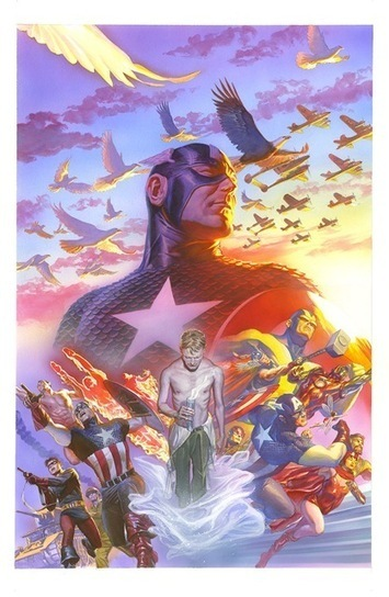 Pretty Pictures: Alex Ross' New Captain America Art - Bleeding Cool ... | my english werbsite- Cees de roij | Scoop.it