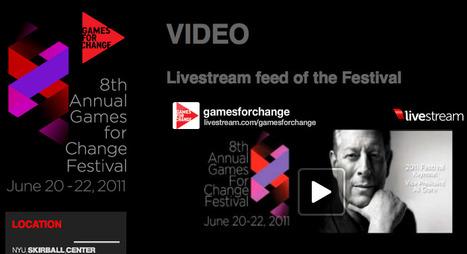 Games for Change Festival, New York - gemist?   Kinderen en interactieve media   Scoop.it