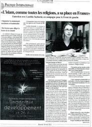 blog de Laetitia Suchecki, Candidate du Front de Gau Laetitia Suchecki, RdG ,#9è Le 17 juin,  2012, pas une voix ne doit manquer pour faire barrage à la droi... | Français à l'étranger : des élus, un ministère | Scoop.it