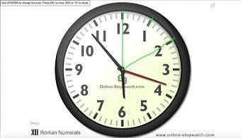 SpeechTechie- Technology, Apps and Lessons for SLPs and Teachers who like Words: Online Clock for Executive Function Skills | BYOD and AT | Scoop.it
